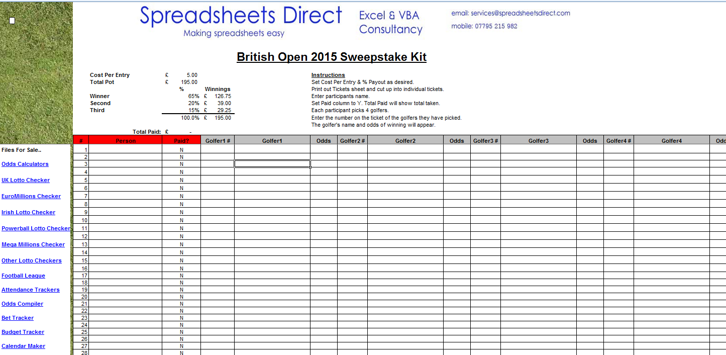 free spreadsheet files  custom excel spreadsheet creation